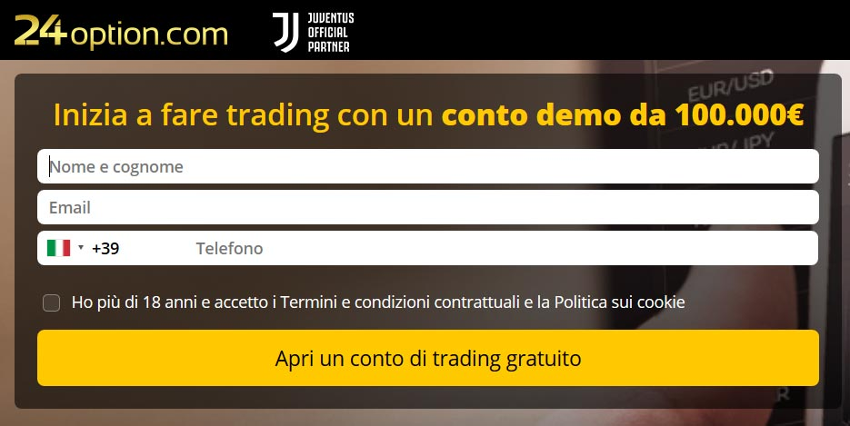 24option Conto Demo