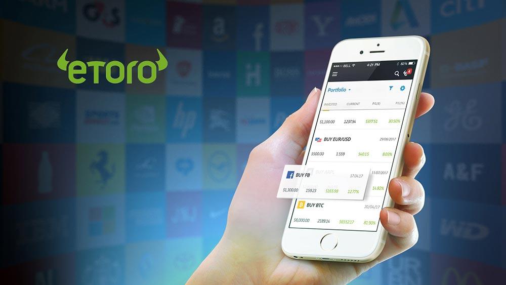Conto Demo broker eToro